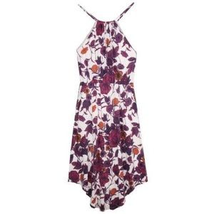 Patagonia Floral Lithia Midi Halter Dress